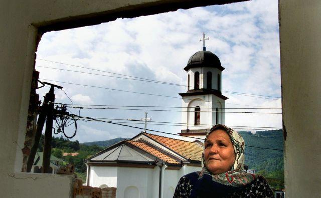 Fata Orlović je izjavila, da bi ravnala enako, tudi če bi bila na njenem dvorišču protipravno zgrajena džamija. FOTO: Danilo Krstanović/Reuters