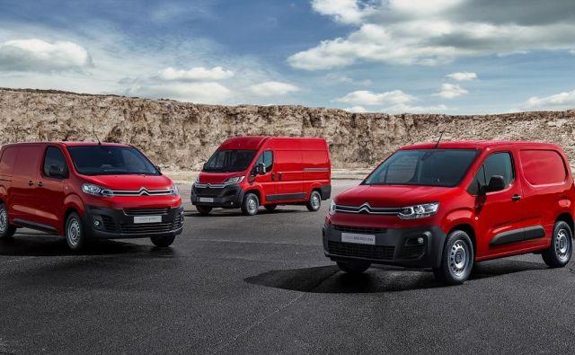 Citroën je posodobil linijo svojih gospodarskih vozil. FOTO: Citroen