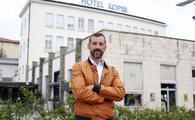 Podjetnik Aleš Piščanc napoveduje novo podjetniško zgodbo s Hotelom Koper. FOTO: Roman Šipić/Delo