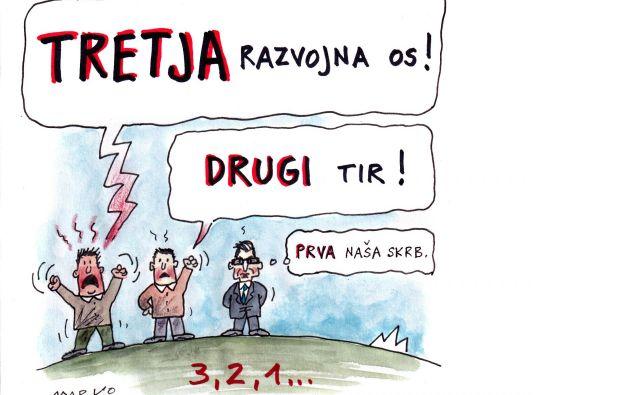 Zdaj so na potezi poslanci.Karikatura: Marko Kočevar