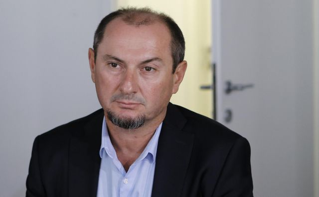 Gašpar Gašpar Mišič terja odškodnino zaradi neupravičene razrešitve z mesta predsednika uprave Luke Koper. FOTO: Blaž Samec