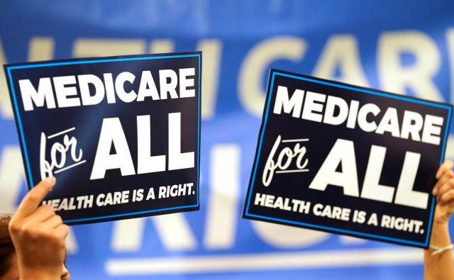 Zavarovanje Medicare velja za tako dobro, da številni demokratski predsedniški kandidati kličejo k njegovi razširitvi na vse državljane. FOTO: Reuters
