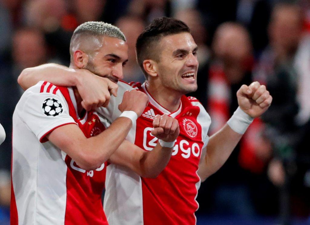 Ajax ohranja formo: Real Madrid in Juventus nista padla naključno