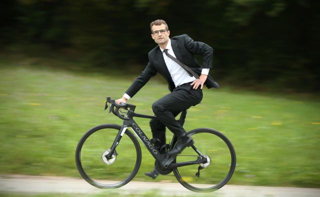 Andrej Hauptman, selektor slovenske članske kolesarske reprezentance. FOTO: Jure Eržen/Delo