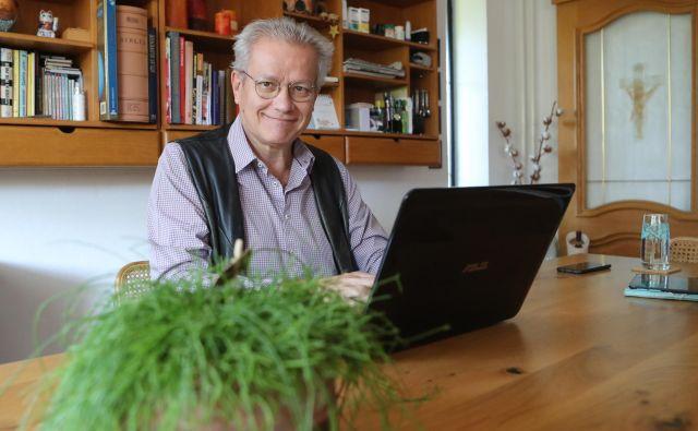Marko Juhant je specialni pedagog za motnje vedenja in osebnosti. Foto Foto: Dejan Javornik