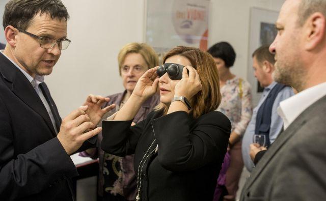 Igor Miljavec je prepričan, da bo sodelovanje vseh deležnikov omogočilo uspešnejše vključevanje slepih in slabovidnih v družbo. Foto Voranc Vogel