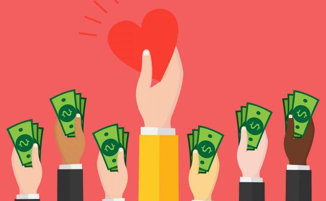 Delitve na družbenih omrežjih se »pretvorijo« v denar šele z donacijo. FOTO: Shutterstock