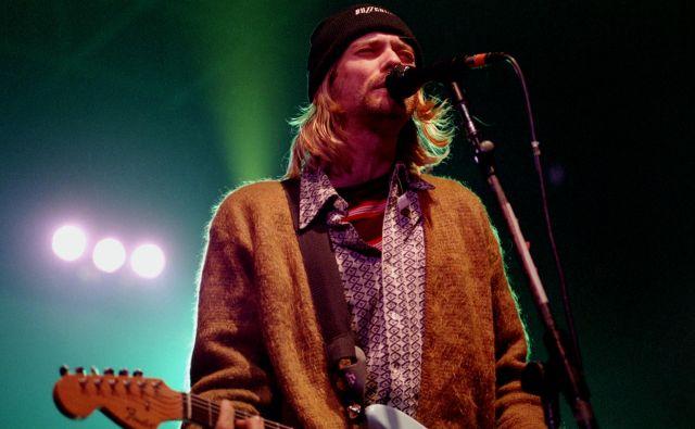 Kurt Cobain je leta 1994 storil samomor. Foto Shutterstock