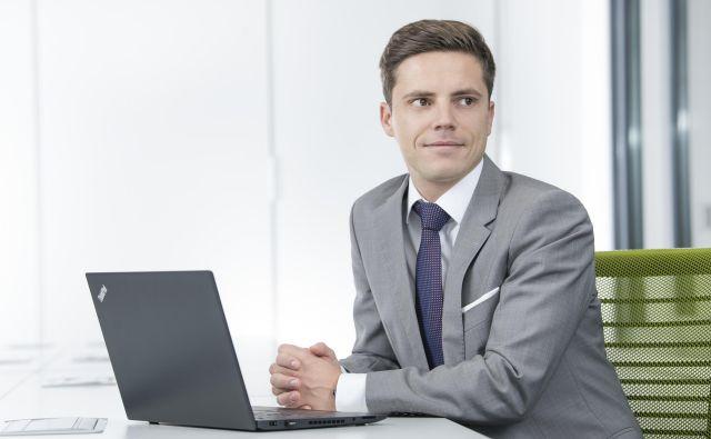 Tadej Recek, menedžer pri Deloitte Slovenija d. o. o. FOTO: Deloitte Slovenija