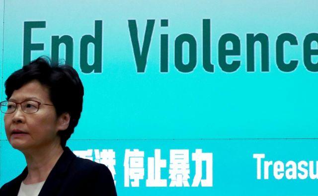 Vodja hongkonške vladeCarrie Lam.Foto: Athit Perawongmetha/Reuters