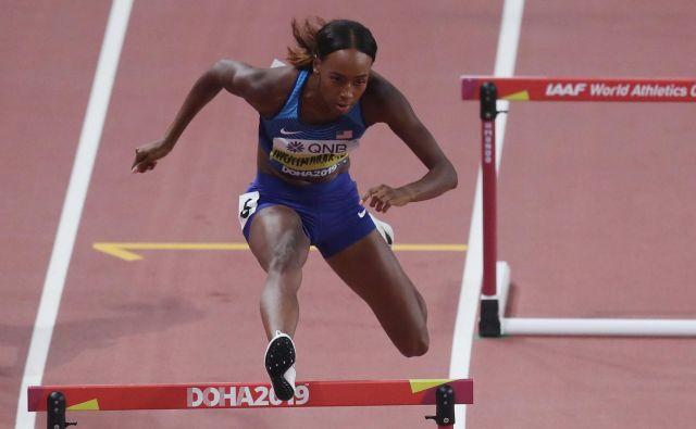 DalilahMuhammad je naslovu olimpijske prvakinje dodala še naslov najboljše na svetu. FOTO: Reuters