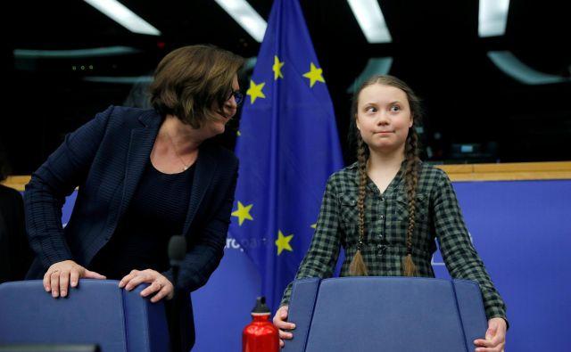 Bogomir Novak: Greta simbolizira mladinski upor proti podnebnim spremembam. Gre za podobo sveta v celoti s kakovostjo preživetja v njem. Foto Reuters