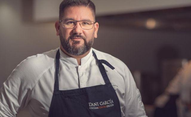 Dani García: »Michelinove zvezdice bi rad obdržal za zmeraj, nikakor jih ne vračam.« Foto Grupodanigarcia