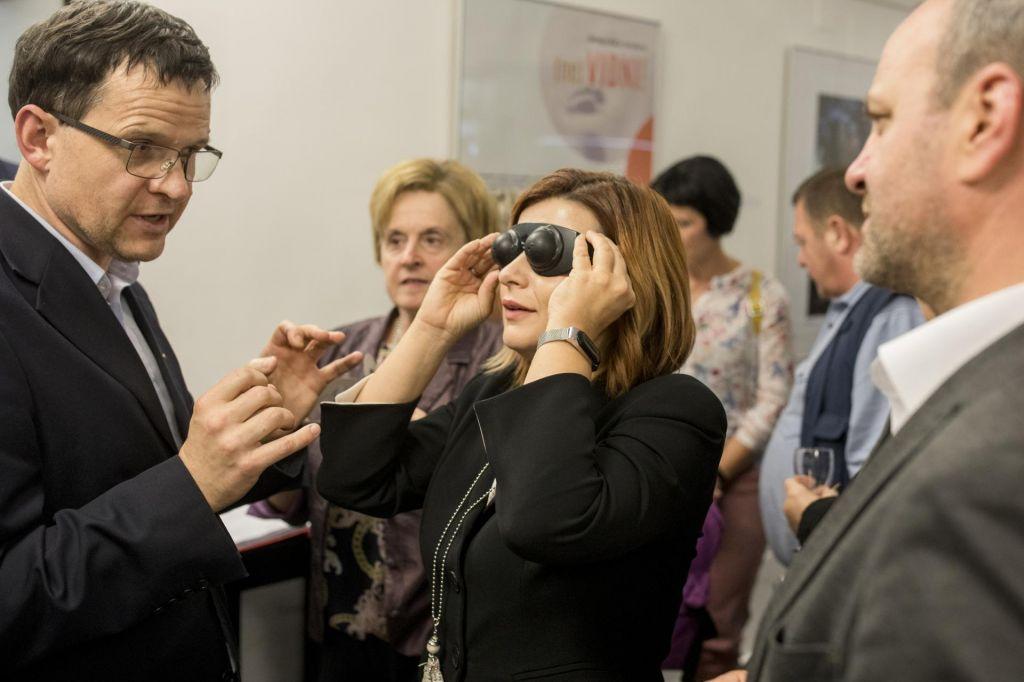FOTO:Ne slepa igralka, le dobra ali slaba