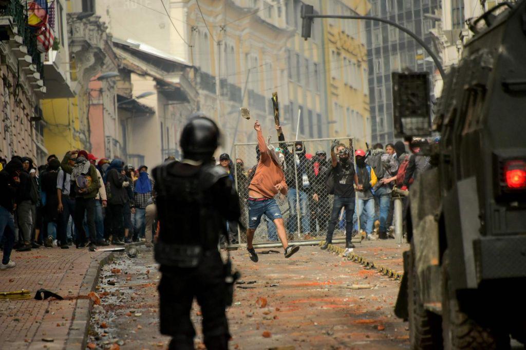 Ekvador: Protesti povod za razglasitev izrednih razmer