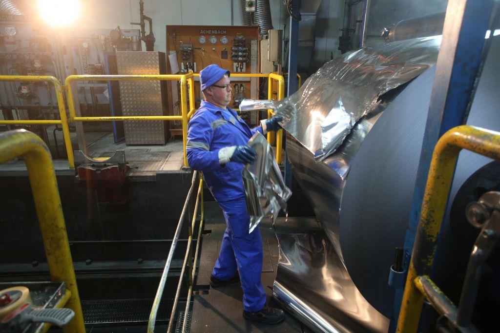 FOTO:Ohlajanje v Nemčiji tolče zaposlene v Sloveniji