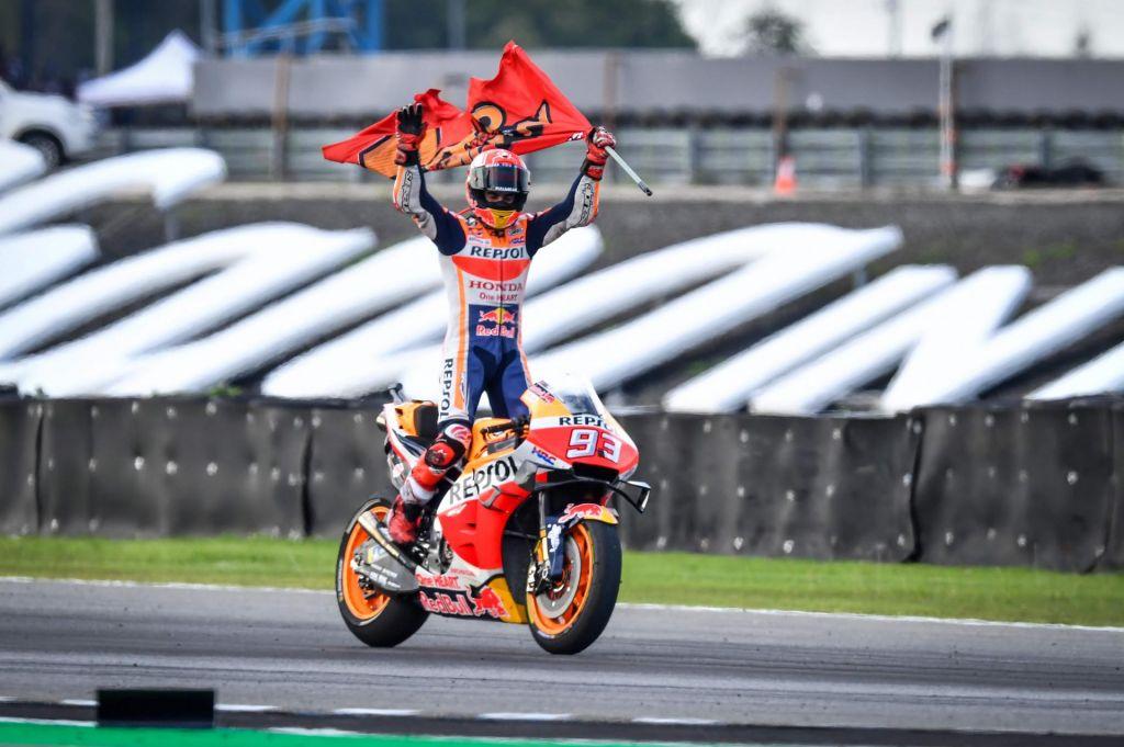 Marc Marquez z deveto zmago leta šestič prvak motogp