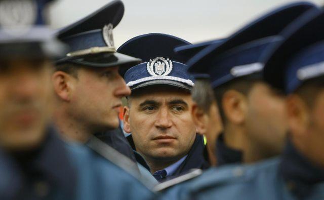 Fotografija romunske policije je simbolična. FOTO: Reuters