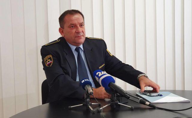 Miran Šadl je morebitne druge žrtve kaznivih dejanj ali tiste, ki karkoli vedo o njih, pozval h klicu na interventno telefonsko številko 113 ali na anonimni telefon policije 080 1200. FOTO: PU Maribor