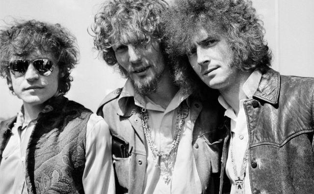 V zgodovino rock'n'rolla se je Baker (na sredini) zapisal kot član »super skupine« Cream: poleg njega sta udarni trio tvorila še basist Jack Bruce in kitarist Eric Clapton. FOTO: Press Release