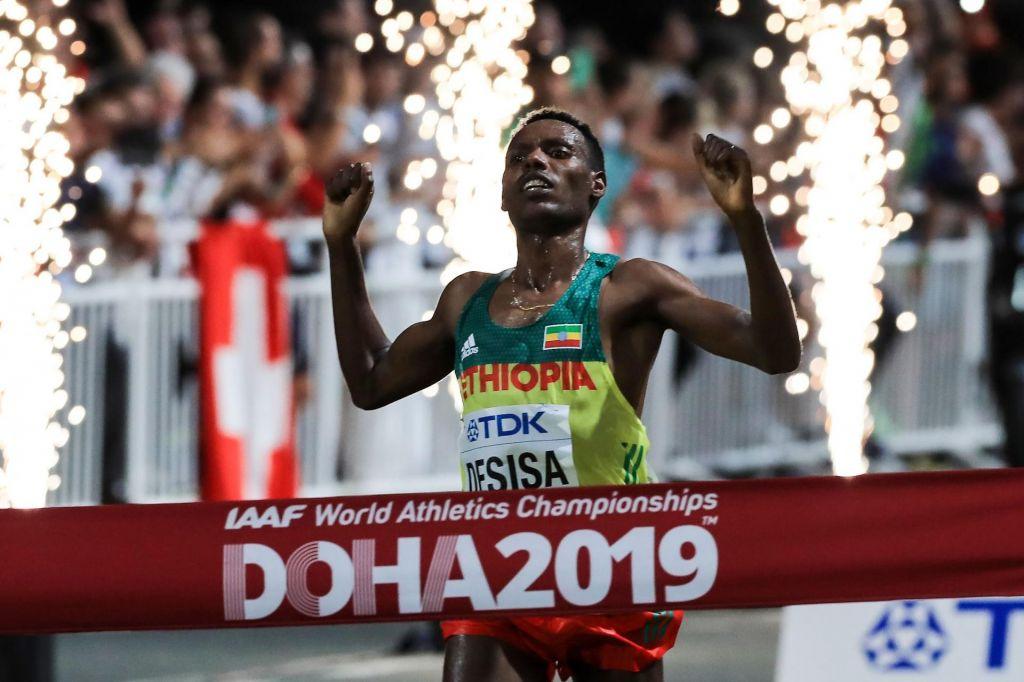 Na maratonu dvojna zmaga Etiopiji