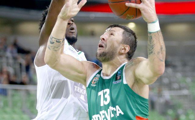Andrija Stipanović bo imel težko delo proti Unicsovim centrom.<br /> Foto Roman Šipić