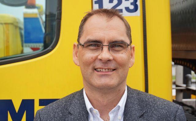 Jura Kostanjšek, generalni sekretar Avto-moto zveze Slovenije Foto AMZS