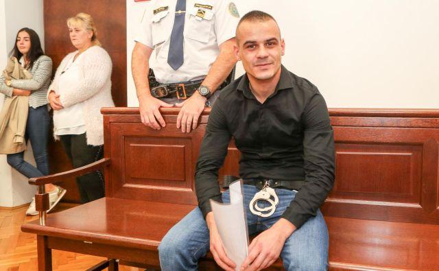 Hariz Softić krivde ni priznal. FOTO: Marko Feist