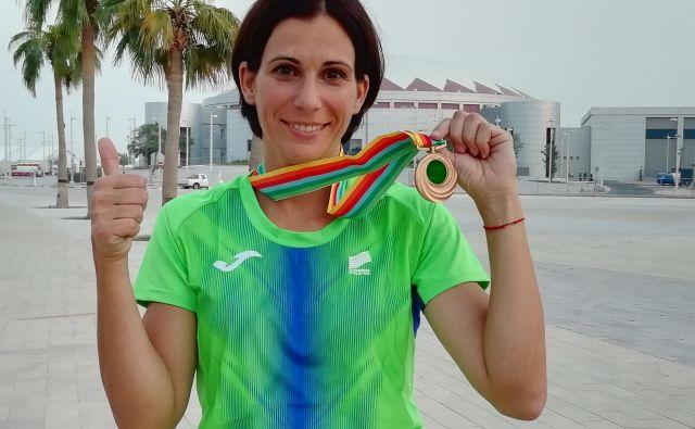 Marija Šestak je prepričana, da bi bila njena kariera povsem drugačna, še uspešnejša, če bi bronasto kolajno osvojila že na SP 2007. Foto S. V.