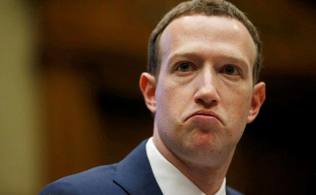 Zuckerberg je vreden kar 70 milijard dolarjev. FOTO: Leah Millis/Reuters