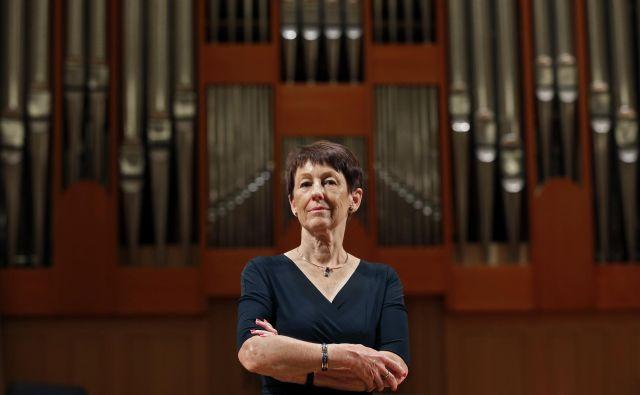 Direktorica Slovenske Filharmonije Marjetica Mahne. FOTO: Matej Družnik/Delo