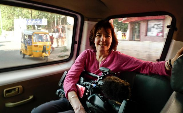 Kim Longinotto, britanska režiserka dokumentarcev Mafija v objektivu, Ločitev po iransko, Sanjelovka, Ljubezen je vse.<br /> FOTO: osebni arhiv