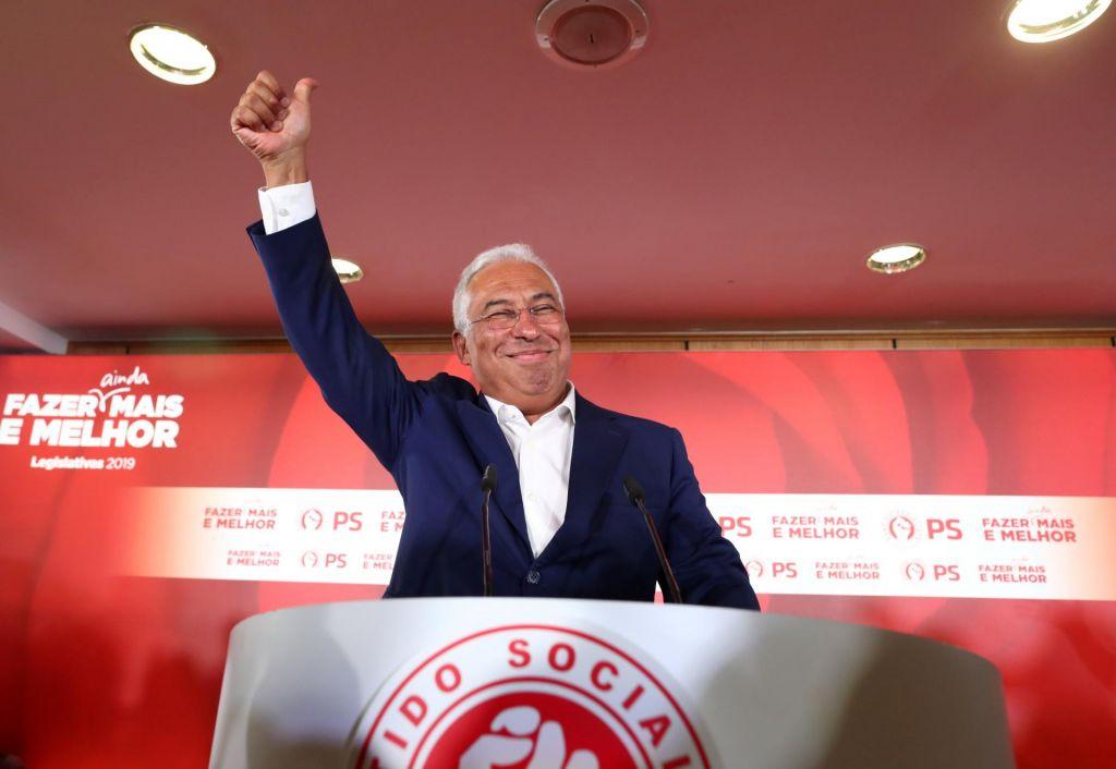 Na Portugalskem po preštetju skoraj vseh glasov slavili socialisti