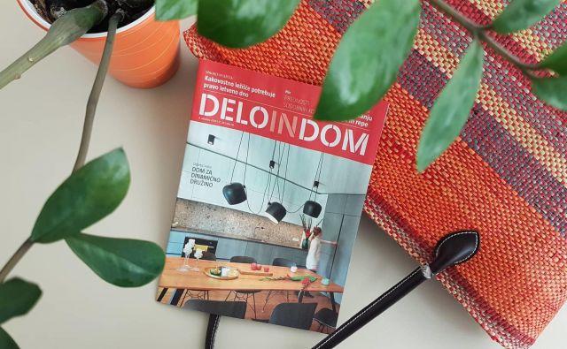 Sreda je dan za novo številko priloge Deloindom. Foto K. Ž.