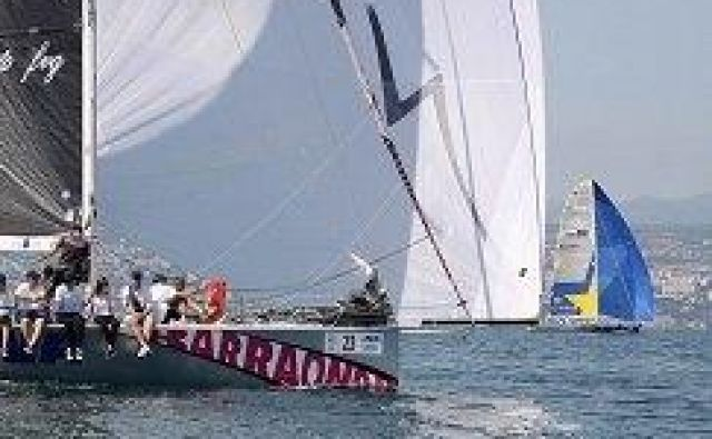 Posadka Barraonde se na 51. Barkolano podaja v odlični formi. Minulo nedeljo je osvojila 12. mesto v pokalu Bernetti. Foto Mong