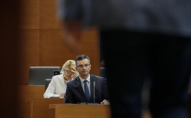 Na sestanku pri premieru Šarcu so se socialni partnerji dogovorili za spremembo pravilnika Ekonomsko-socialnega sveta. FOTO: Voranc Vogel
