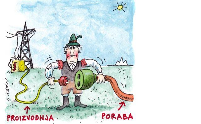 Karikatura Foto Marko