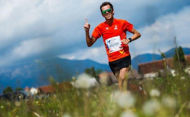 Če ne bi bilo tekaških skupin, dvomim, da bi še tekel na tekmah, pravi Peter Kastelic. Foto osebni arhiv