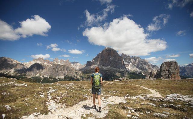 Sama ne zbiram kilometrov, ne štejem korakov, ne zapisujem vseh nabranih vrhov slovenskih gora. FOTO:: Jure Eržen/Delo