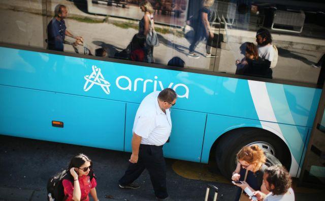Potniki se pritožujejo čez delo Arrivinih voznikov. FOTO: Jure Eržen/Delo