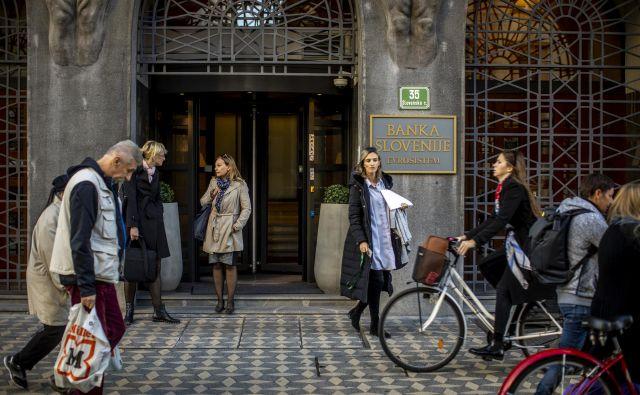 Banka Slovenije se je odločila ukrepati pri potrošniških posojilih. Foto Voranc Vogel