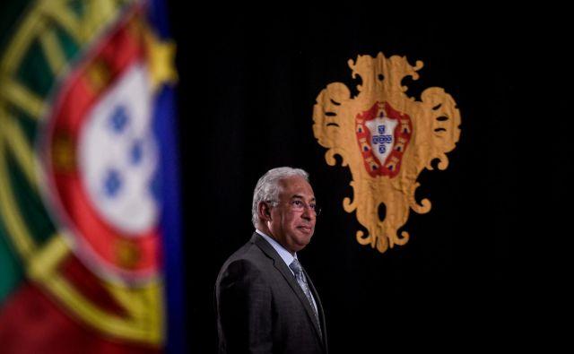 António Costa je človek dialoga, toda ne z desnico. Foto: AFP