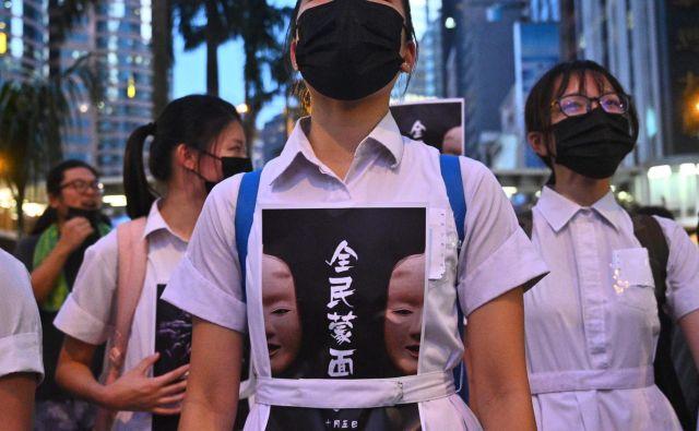 Če sklepamo po dogajanju v Hongkongu, zahteva generacija Z predvsem pravično družbo. FOTO: AFP