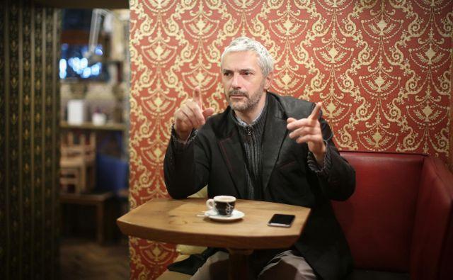 Tomi Janežič je prejel več kot trideset mednarodnih nagrad in priznanj. FOTO: Jure Eržen/Delo
