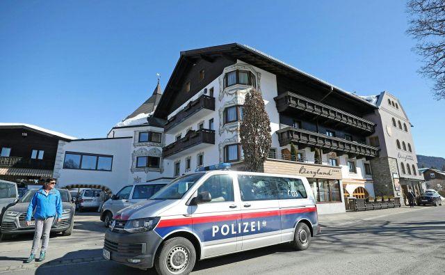 Avstrijska policija je na SP v nordijskem smučanju v Seefeldu razkrila dopinško afero, ki je preko glavnega osumljenca zdravnika Marka Schmidta segala tudi do kolesarjev. FOTO: AFP