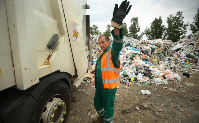 Lani je v Sloveniji nastalo skoraj 8,4 milijona ton odpadkov. FOTO: Jure Eržen/Delo