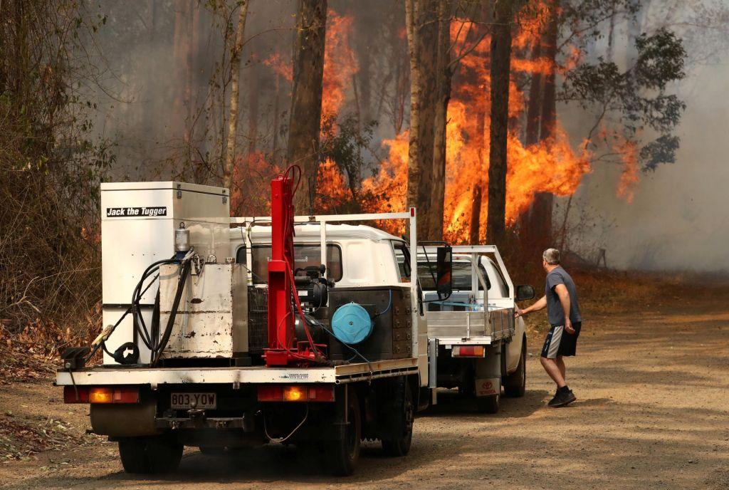 V Novem Južnem Walesu divjajo najhujši požari v znani zgodovini