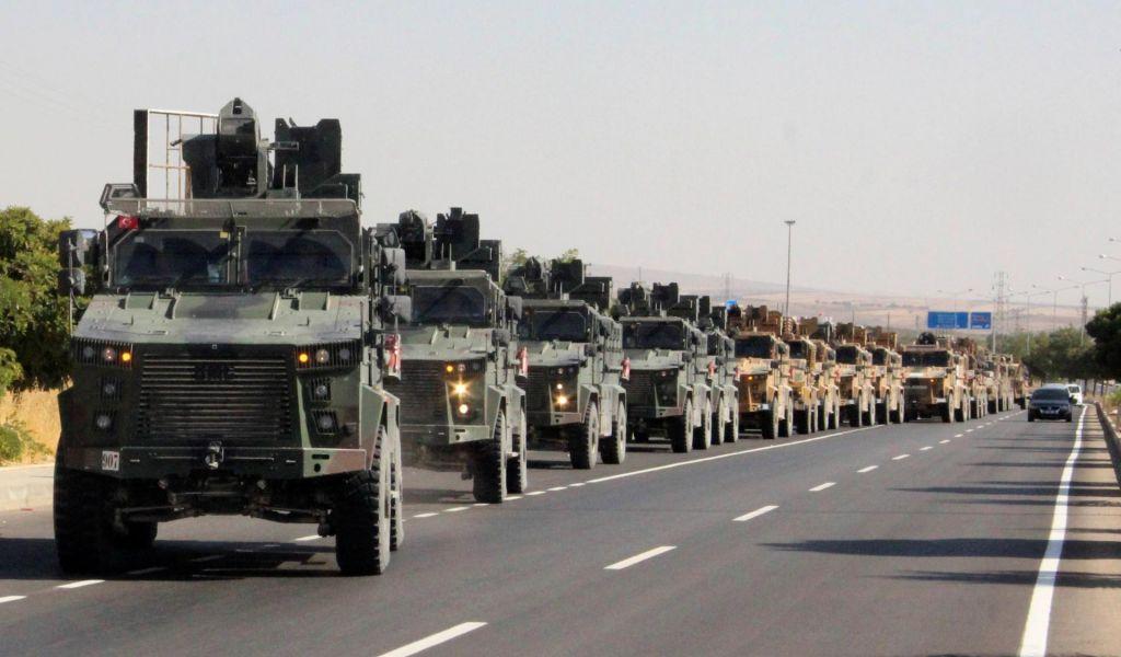 Turška vojska je sprožila ofenzivo v severovzhodni Siriji