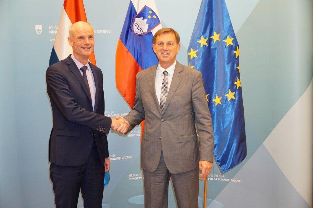 Nizozemska in Slovenija utrjujeta zgledne odnose