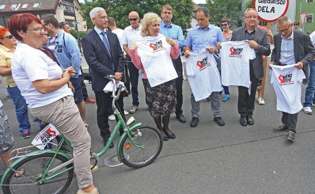 Še enega protesta, tokrat v Ljubljani, zaenkrat ne bo. FOTO: Tadej Regent